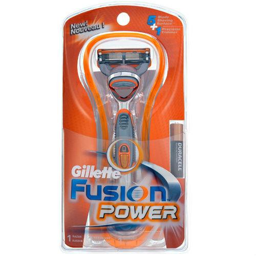 Aparelho de Barbear Gillette Fusion Power à Pilha 1 Unidade