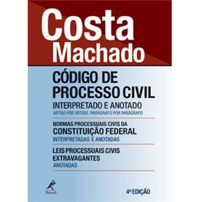 Codigo de Processo Civil Interpretado e Anotado