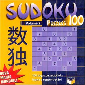 Sudoku Puzzles 100: 100 Jogos de Raciocínio, Lógica e Concentração - Volume 2