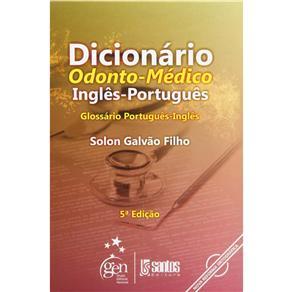 Dicionario Odonto-medico Ingles-portugues