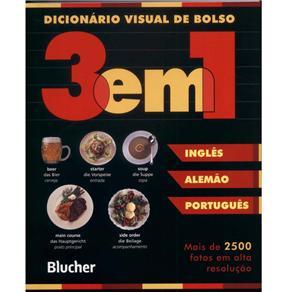 Dicionário Visual de Bolso - 3 em 1 Inglês/ Alemão/ Português (0)