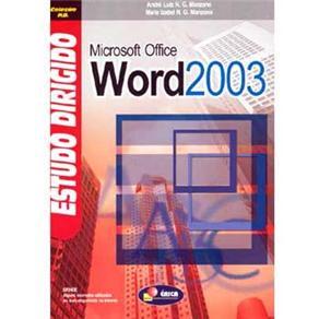 Estudo Dirigido de Microsoft Office Word 2003