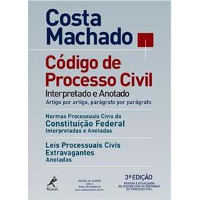 Codigo de Processo Civil Interpretado e Anotado - 3ºed.