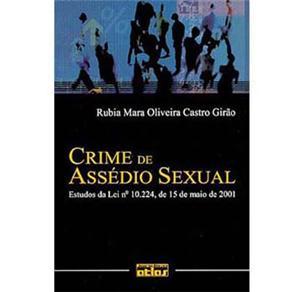 Crime de Assédio Sexual: Estudos da Lei Nº .224, de 15 de Maio de 2001