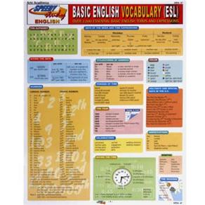 Basic English Vocabulary (esl): Over 2500 Essential Basic English Terms And Expressions