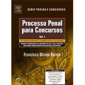Processo Penal para Concursos - Vol. 1