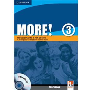 More!: Workbook With Cd - Level 3