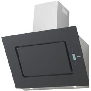 Coifa de Parede Fischer 90 Cm Magnun Inox - 220v - Com Vidro Preto - 11252-14199