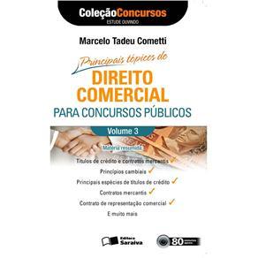 Audiolivro: Direito Comercial para Concursos Publicos- Vol.3