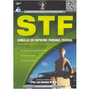Stf: Súmulas do Supremo Tribunal Federal - Autor: Luiz Henrique M. Dias - Cd de Audiolivro