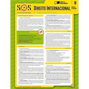 Sinteses Organizadas Saraiva: Direito Internacional Publico e Privado - Vol. 9