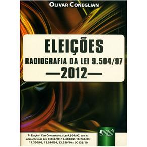 Eleições: Radiografia da Lei 9.504/97 - 2012