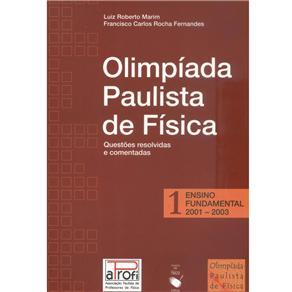 Olimpiada Paulista de Fisica 1 - Ensino Fundamental