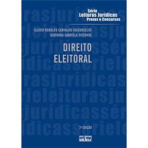 Direito Eleitoral - Volume 35