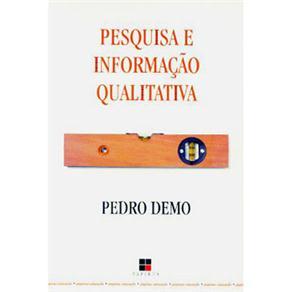 Pesquisa e Informação Qualitativa - Coleção Papirus Educação