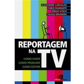 Reportagem na Tv