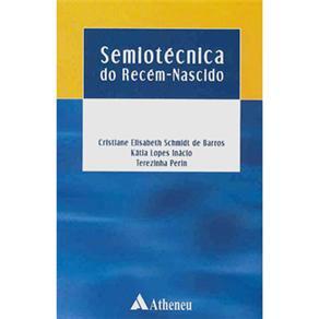 Semiotécnica do Recem-nascido - Cristiane Schmidt de Barros