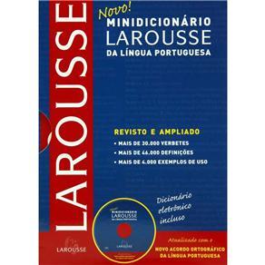Novo Minidicionário Larousse da Língua Portuguesa (com Cd-rom) - Atualizado