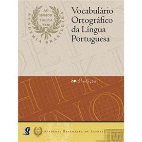 Vocabulario Ortografico da Lingua Portuguesa Volp