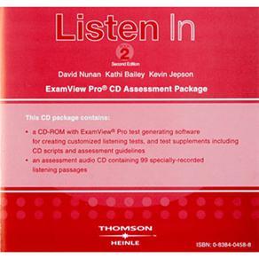 Cd- Listen In Examview - Level 2
