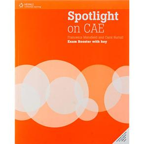 Spotlight On Cae Exam Booster Workbook - With Answer Key - Cd-audio