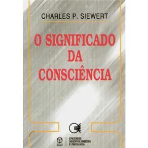 Significado da Consciência, O