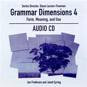 Cd Audio - Grammar Dimensions Level 3
