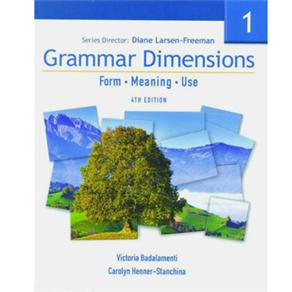 Grammar Dimensions 1 - Student Book