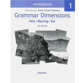 Grammar Dimensions 1 - Workbook