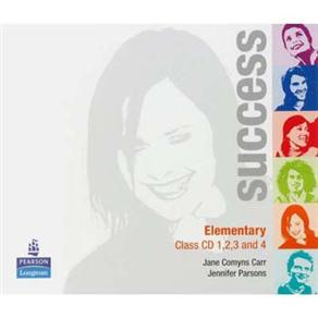 Sucess: Class Cd 1,2,3 And 4 - Elementary