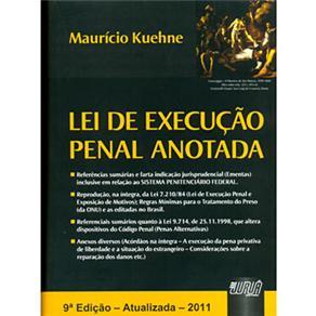 Lei de Execução Penal Anotada