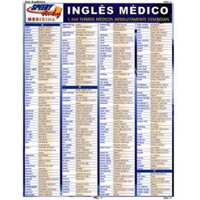 Inglês Médico: 1.350 Termos Médicos Absolutamente Essenciais
