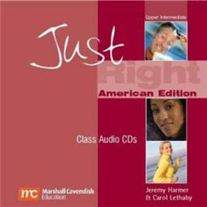 Cd-audio -just Right - Upper-intermediate
