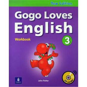 Gogo Loves English: Workbook With Cd Inside - 3