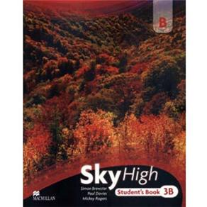 Sky High Students Pack-3b With Workbook And Audio Cd