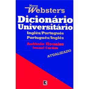 Novo Dicionário Universitário Websters Inglês / Português