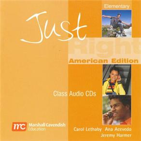 Cd-audio -just Right - Elementary
