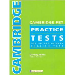 Cambridge Practice Tests - Pet - Teacher´s Book