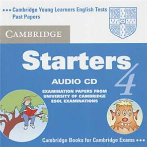 Cambridge Starters: Cd Audio - 4