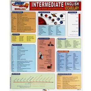 Intermediate English Vocabulary: Over 2450 Terms And Expressions