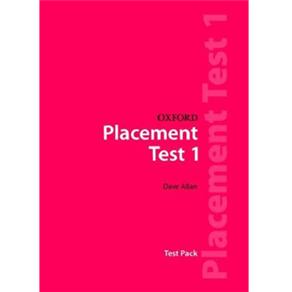 Oxford Placement Tests: Test Pack - Level 1