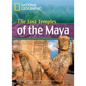 Footprint Reading Library - Level 4 1600 Headwords 1600 B1 - The Lost Temples Of The Maya - American