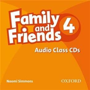 Audio Class Cds-4:family And Friends