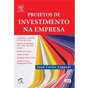Projetos de Investimentos na Empresa