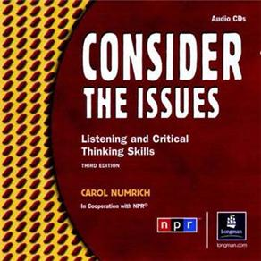 Consider The Issues Audio Cd(2) 3ed