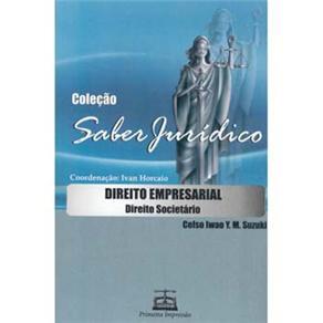 Saber Jurídico - Direito Empresarial: Direito Societário