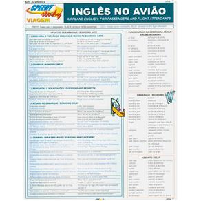 Inglês no Avião: Airplane English: For Passengers And Flight Attendants