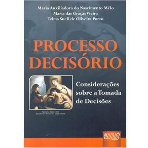 Processo Decisório: Considerações Sobre a Tomada de Decisões