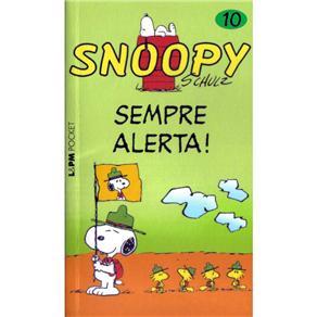 Snoopy 10 - Sempre Alerta! - Edicao de Bolso