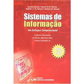 Sistemas de Informacao - um Enfoque Computacional